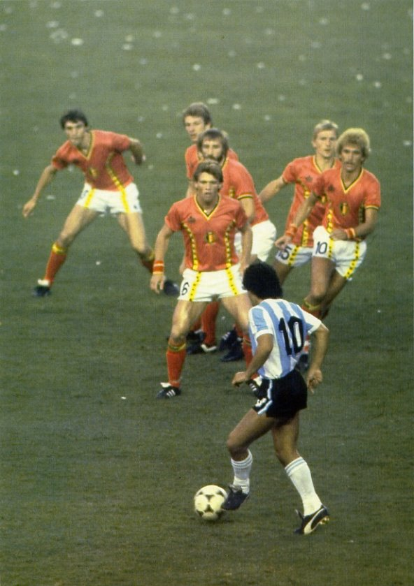 56 – Enzo Scifo: Belgium v USSR 1986 – 90 World Cup Minutes In 90 Days